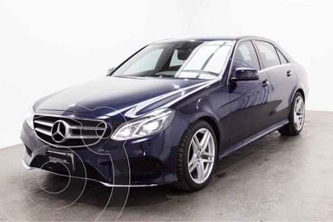 Mercedes Clase E 400 CGI Sport usado (2014) color Azul precio $400,000