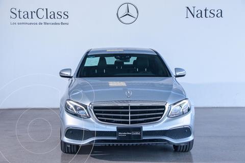 Mercedes Clase E 200 CGI Exclusive usado (2017) color Plata Dorado precio $710,000