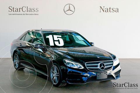 Mercedes Clase E Coupe 400 4Matic usado (2015) color Negro precio $590,000