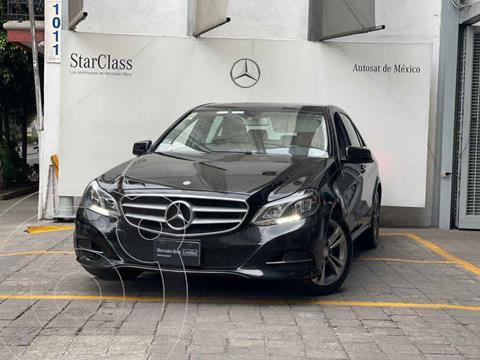 Mercedes Clase E 200 CGI Exclusive usado (2014) color Negro precio $305,000