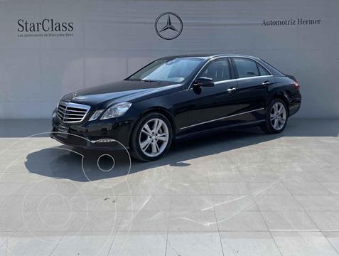 Mercedes Clase E 500 CGI Guard usado (2013) color Negro precio $549,900