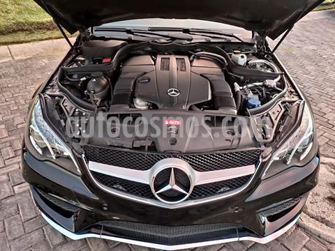 Mercedes Clase E Coupe 400 CGI usado (2014) color Negro Obsidiana precio $438,000