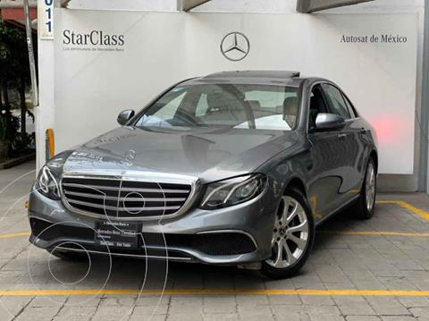 Mercedes Clase E 200 CGI Exclusive usado (2020) color Gris precio $750,000