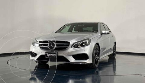 Mercedes Clase E 400 CGI Sport usado (2014) color Plata precio $399,999