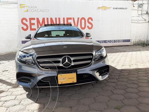 Mercedes Clase E 400 4MATIC Sport usado (2018) color Cafe precio $790,000