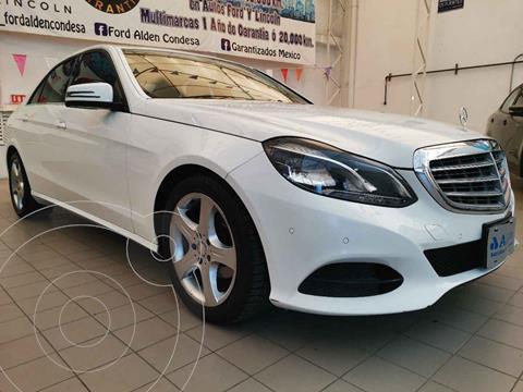 Mercedes Clase E 200 CGI Exclusive usado (2014) color Blanco precio $258,000