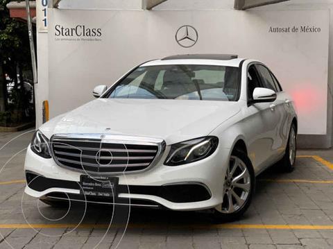 Mercedes Clase E 200 CGI Exclusive usado (2020) color Blanco precio $750,000