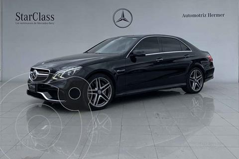 Mercedes Clase E 63 AMG usado (2014) color Negro precio $599,900