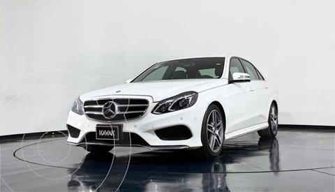 Mercedes Clase E 200 CGI Exclusive usado (2014) color Blanco precio $389,999