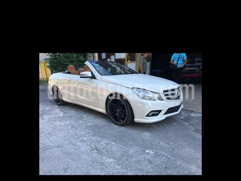 Mercedes Clase E 350 CGI Convertible usado (2011) color Blanco precio $295,000