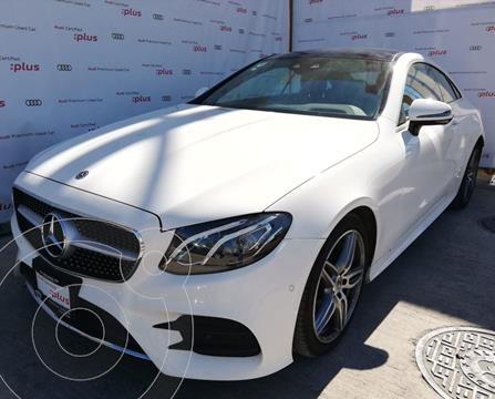 Mercedes Clase E Coupe 400 4Matic usado (2018) color Blanco precio $779,000