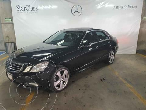 Mercedes Clase E 500 Avantgarde usado (2010) color Negro precio $249,000