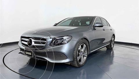 Mercedes Clase E 200 CGI Avantgarde usado (2017) color Gris precio $507,999