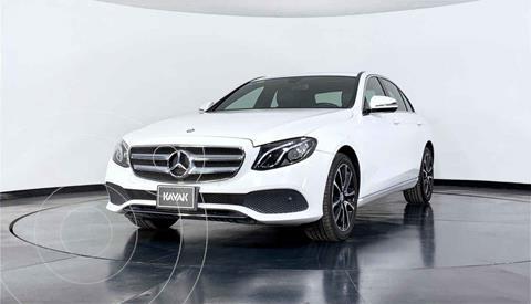 Mercedes Clase E 200 CGI Avantgarde usado (2017) color Blanco precio $519,999
