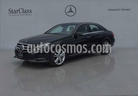 Mercedes Clase E 500 CGI Guard usado (2014) color Negro precio $639,900
