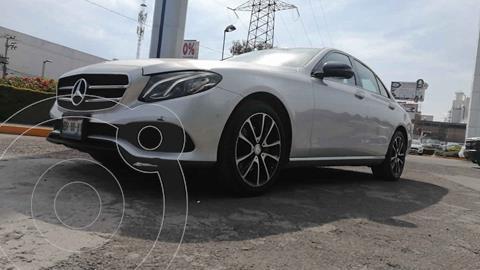 Mercedes Clase E 250 Avantgarde usado (2017) color Plata precio $470,000