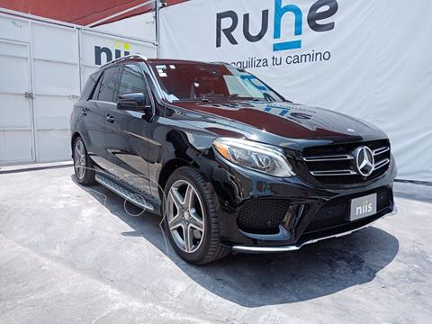 Mercedes Clase GLE SUV 400 Guard VR4 usado (2017) color Negro precio $1,250,000