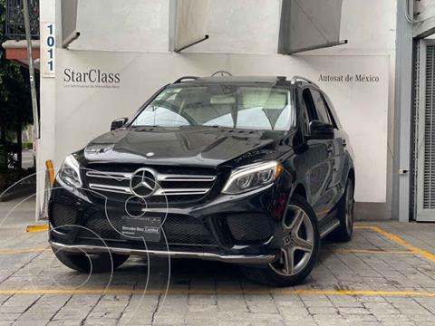 Mercedes Clase GLE SUV 400 Sport usado (2017) color Negro precio $670,000
