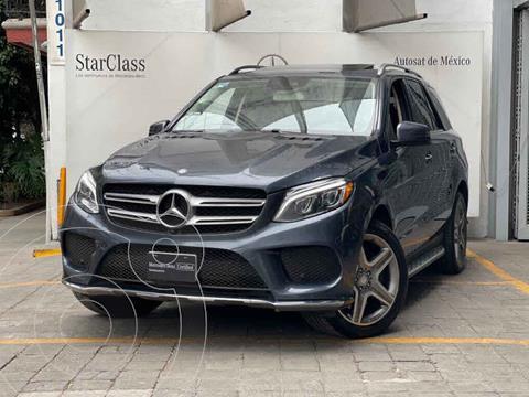 Mercedes Clase GLE SUV 400 Sport usado (2016) color Gris precio $560,000