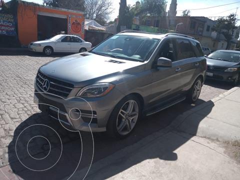Mercedes Clase M ML 500 CGI Biturbo usado (2014) color Plata Paladio precio $510,000