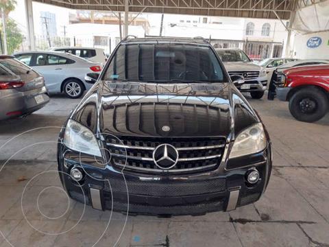 Mercedes Clase M ML 63 AMG usado (2007) color Negro precio $279,000