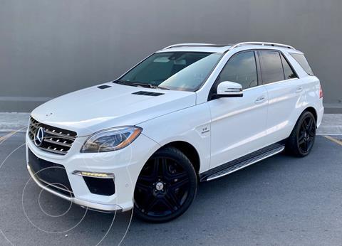 Mercedes Clase M ML 63 AMG usado (2014) color Blanco precio $540,000