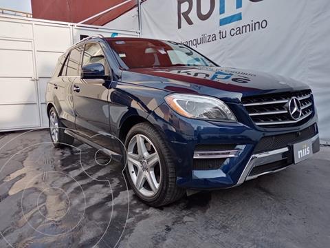 Mercedes Clase M ML 350 CGI Exclusive usado (2015) color Azul Marino precio $700,000