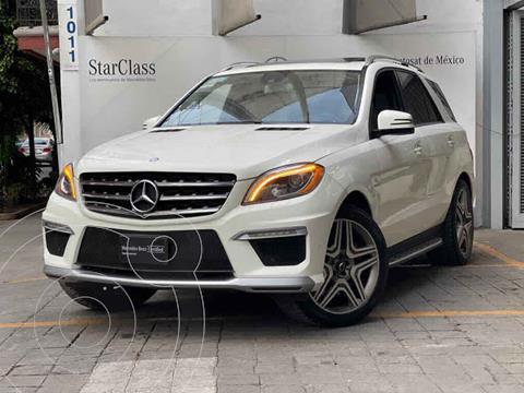Mercedes Clase M ML 63 AMG usado (2013) color Blanco precio $510,000