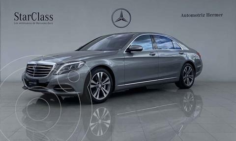 Mercedes Clase S 500 CGI L Bi-Turbo (435Hp) usado (2014) color Gris precio $999,900