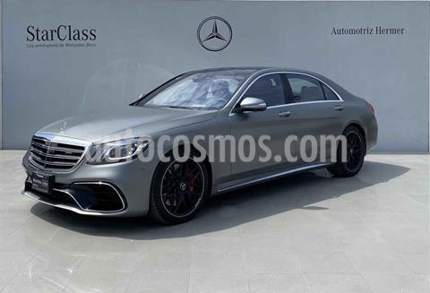 Mercedes Clase S 63 AMG usado (2019) color Gris precio $3,199,900