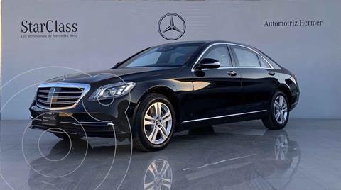 Mercedes Clase S 450 L usado (2020) color Negro precio $2,744,900
