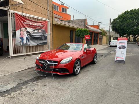 Mercedes Clase SLC 200 usado (2017) color Rojo precio $610,000