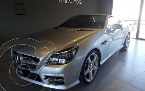 Mercedes Clase SLK 350 Blue Efficiency usado (2013) color Gris precio $9.180.000
