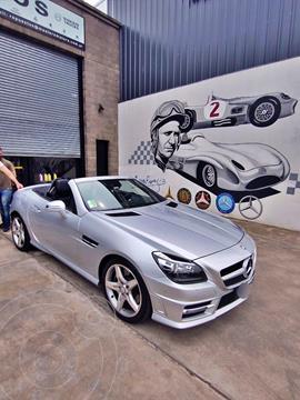 Mercedes Clase SLK 350 Blue Efficiency Sport usado (2014) color Plata precio u$s55.500