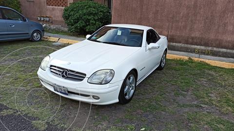 Mercedes Clase SLK 230 K Aut usado (2002) color Blanco precio $164,000