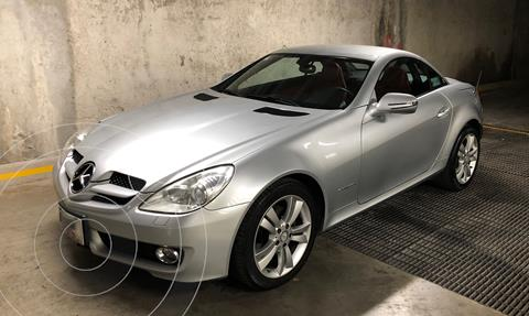 Mercedes Clase SLK 200 K Aut usado (2009) color Plata precio $300,000