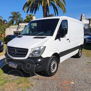 Mercedes Sprinter Street Furgon 411 3250 TN V2 2015/16 usado (2017) color Blanco precio $3.890.000