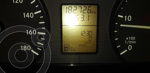 Mercedes Sprinter Chasis 415 3665 usado (2013) color Blanco precio $3.100.000