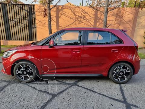 MG 3 1.5L Comfort  usado (2021) color Rojo precio $9.190.000