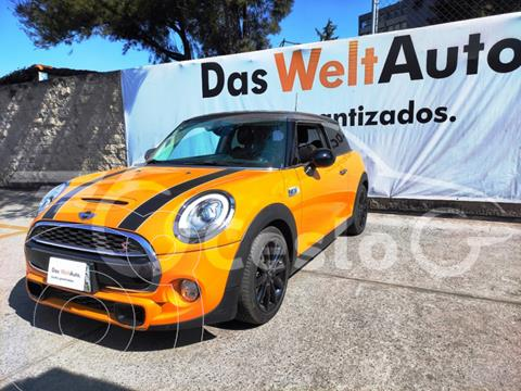 MINI Cooper S SALT L4 2.0L TURBO AC R17 TM usado (2017) color Naranja precio $285,000