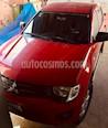 Foto venta Auto usado Mitsubishi L200 4x2 2.4L Cabina Doble (2011) color Rojo precio $160,000
