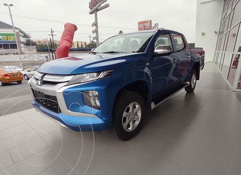 Mitsubishi L200 GLX Diesel 4x4   usado (2021) color Azul precio $509,000