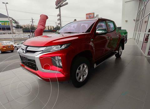 Mitsubishi L200 GLX Diesel 4x4   usado (2021) color Rojo precio $499,000