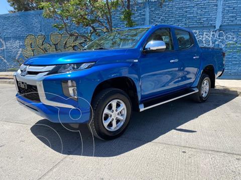 Mitsubishi L200 GLX 4x4   usado (2021) color Azul Metalico precio $515,000