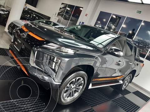 Mitsubishi L200 GLS Diesel Aut usado (2021) color Negro precio $701,700