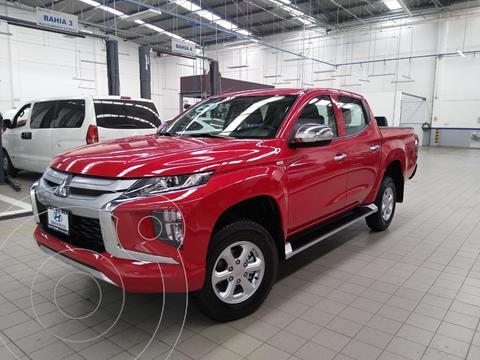 Mitsubishi L200 4x4 2.5L DI-D Cabina Doble usado (2021) color Rojo precio $505,000