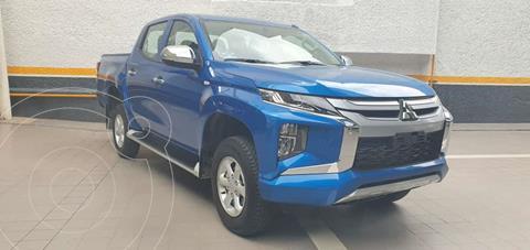 Mitsubishi L200 GLX 4x4   usado (2021) color Azul precio $505,000
