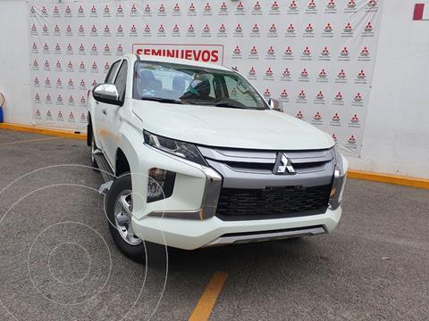 Mitsubishi L200 GLX 4x4   usado (2021) color Blanco precio $498,000