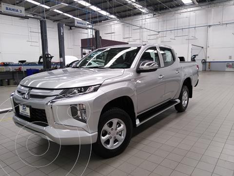 Mitsubishi L200 GLS 4x4 Diesel usado (2021) color Plata Dorado precio $525,000