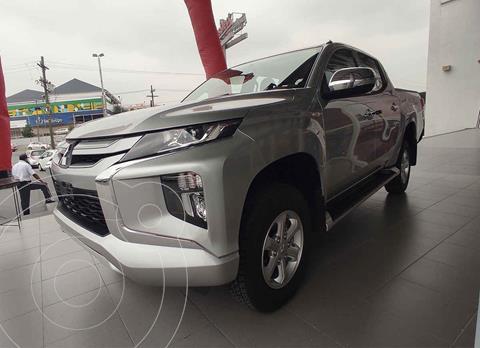 Mitsubishi L200 GLS 4x4 Diesel usado (2021) color Plata precio $499,000